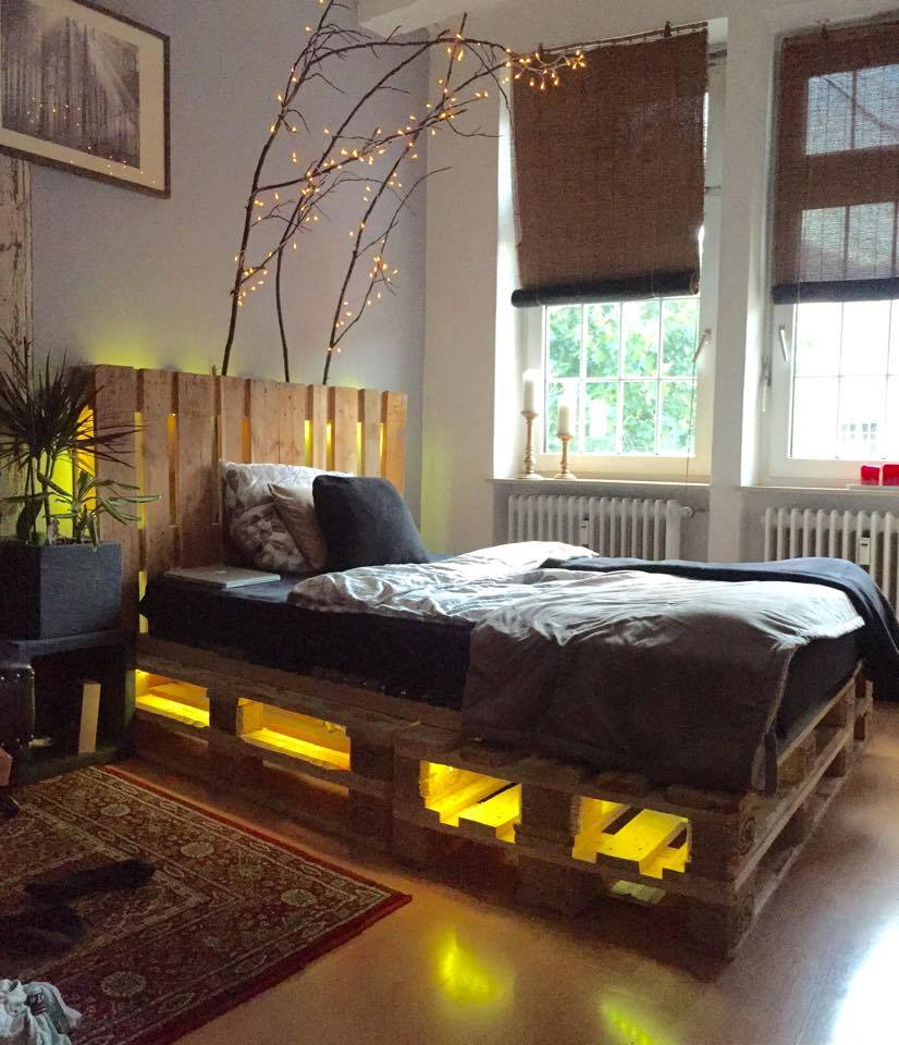 Addiction Of Pallet Beds With Light Underneath Trend Today Your 1 Source For The Latest Trends Exclusives Inspirations