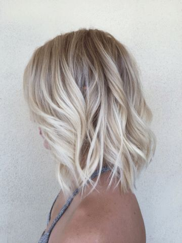 31 Stunning Examples of Blonde Balayage Short Hair for