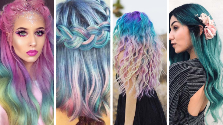 Hottest Ideas Of Mermaid Hair Color Trend Today Your 1 Source For The Latest Trends Exclusives Inspirations