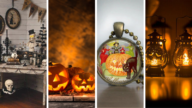 Vintage Halloween Decorations and Collections