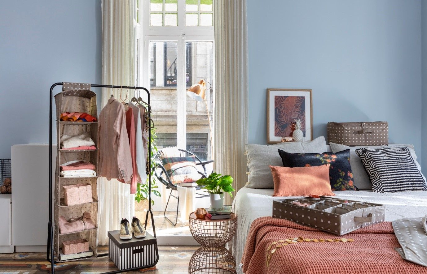 Tips to keep your home tidier - Bedroom