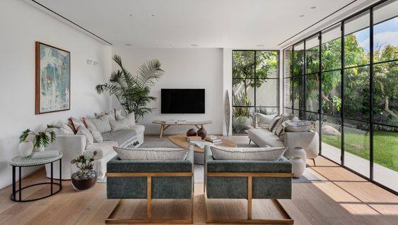 Rooms with garden view
