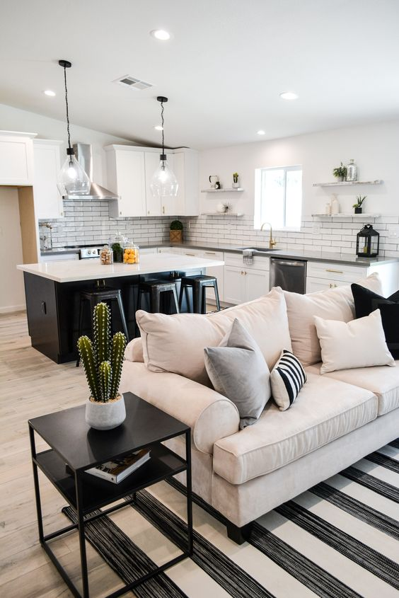How to optimize the space between living room and dining room