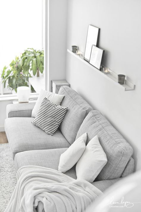 Choose to decorate in simple styles